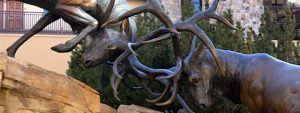 Antlers Statue