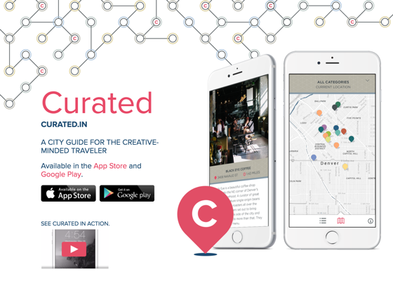 Curated Mobile App